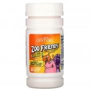 21st Century Zoo Friends Childrens Multivitamin 60 tabs