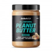 Biotech USA All Natural Peanut Butter Crunchy 400 g