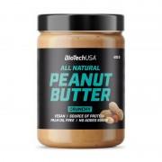 Biotech USA All Natural Peanut Butter Crunchy 400 g