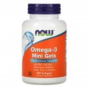 Now Foods Omega-3 Mini Gels 180 softgels