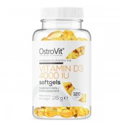 OstroVit Vitamin D3 4000 120 softgels
