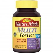 Nature Made Multi for Her With Iron & Calcium 90 tabs
