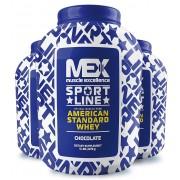 Mex American Standard Whey 2270 g Клубника