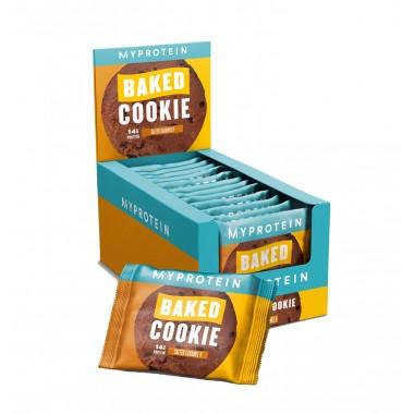 Myprotein Baked Cookie Protein 75 грамм, домашнее протеиновое печенье с соленой карамелью
