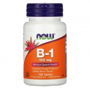 Now Foods B-1 100 mg 100 tabs
