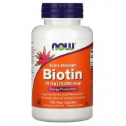 Now Foods Biotin 10000 mcg 120 caps