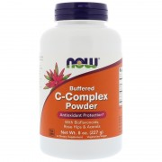 Now Foods Buffered C Complex Powder 227 g