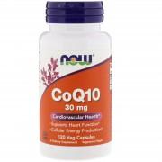 Now Foods CoQ10 30 mg 120 softgels