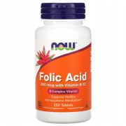 Now Foods Folic Acid 250 tabs