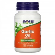 Now Foods Garlic Oil 1500 mg 100 softgels