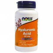 Now Foods Hyaluronic Acid 50 mg 60 caps