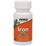 Now Foods Iron 18 mg 120 caps