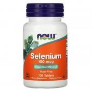 Now Foods Selenium 100 mcg 100 tabs