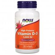 Now Foods Vitamin D 1000 IU 180 softgels