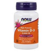 Now Foods Vitamin D 2000 IU 120 softgels