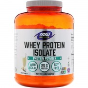 Now Foods Sports Whey Protein Isolate 2268 g Вершкова ваніль