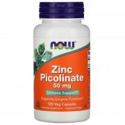 Now Foods Zinc Picolinate 50 mg 120 caps