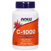 Now Foods Vitamin C-1000 With 100 mg of Bioflavonoids 100 caps