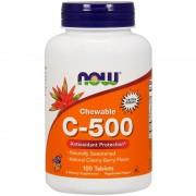 Now Foods Chewable C-500 100 tabs