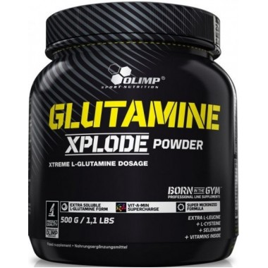 Olimp Glutamine Xplode 500 грамм, глютамин