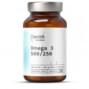 OstroVit Pharma Omega 3 500/250 30 softgels