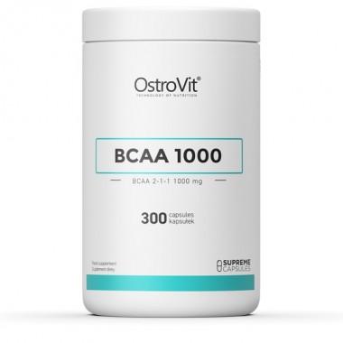 OstroVit BCAA 2-1-1 1000 300 капсул, бцаа 2-1-1