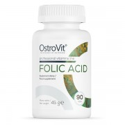 OstroVit Folic Acid 90 tabs DATA 08.2021