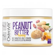 OstroVit 100% Peanut Butter + Honey 500 g